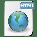 Mimetypes html icon
