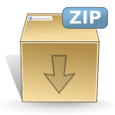Mimetypes zip icon
