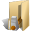 Folder-development-hammer icon