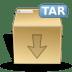 Mimetypes-tar icon