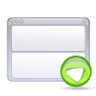 Actions-view-bottom icon