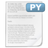 Mimetypes-source-py icon