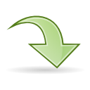 Arrow jump icon