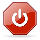 Button exit icon