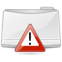 Extras folder important icon