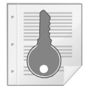 Mimetypes gnome mime application pgp keys icon
