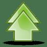Arrow-double-up icon