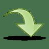 Arrow-jump icon