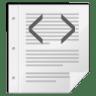 Mimetypes-gnome-mime-text-xml icon