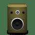 Speaker-orange icon