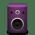 Speaker-pink icon