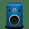 Speaker-brightBlue icon