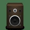 Speaker-brown icon