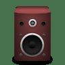 Speaker-red icon
