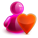 Love girl icon