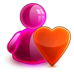 Love girl icon