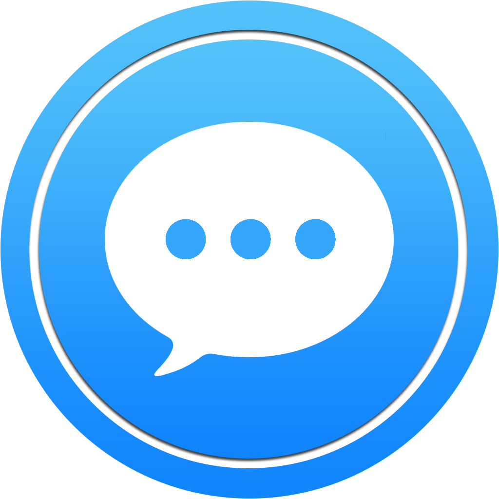 Message Icon | Bubble Circle Pack #2 Iconset | scafer31000