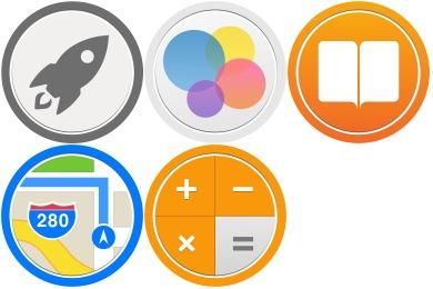 Bubble Circle #3 Icons