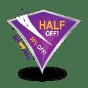 Half Sale icon