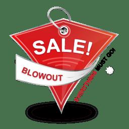 Blowout Sale icon