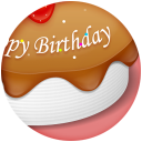 Happy Birthday Cake icon