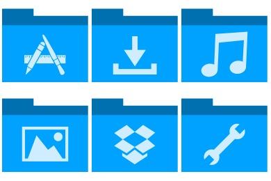 Mac Ordner Icon ändern