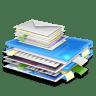 Blue-folder icon
