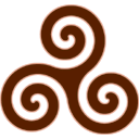 Brown-Triskele icon