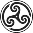 Grey Wheeled Triskelion 2 icon