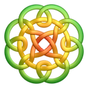Greenyellow circleknot icon