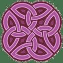 Mauveknot 8 icon