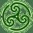 Green-Wheeled-Triskelion-2 icon