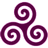 Mauve-Triskele icon