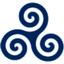 Blue-Triskele icon