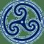Blue-Wheeled-Triskelion-2 icon