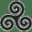 Grey Triskele icon