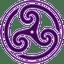 Purple-Wheeled-Triskelion-2 icon