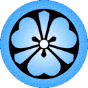 Blue Katabami icon