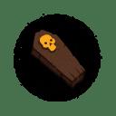 Halloween Coffin icon