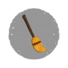 Halloween-Broom icon
