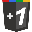 Google plus grey icon