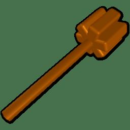Twirling stick icon
