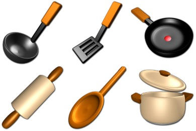 Virtual Kitchen Icons