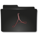 Folders Acrobat a icon