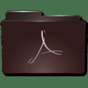 Folders Acrobat b icon