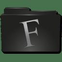 Folders Fuentes icon