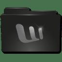 Folders Word icon