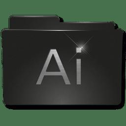 Folders Adobe AI icon