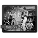 Rock 70s icon