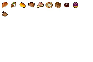Autumn Sweets Icons